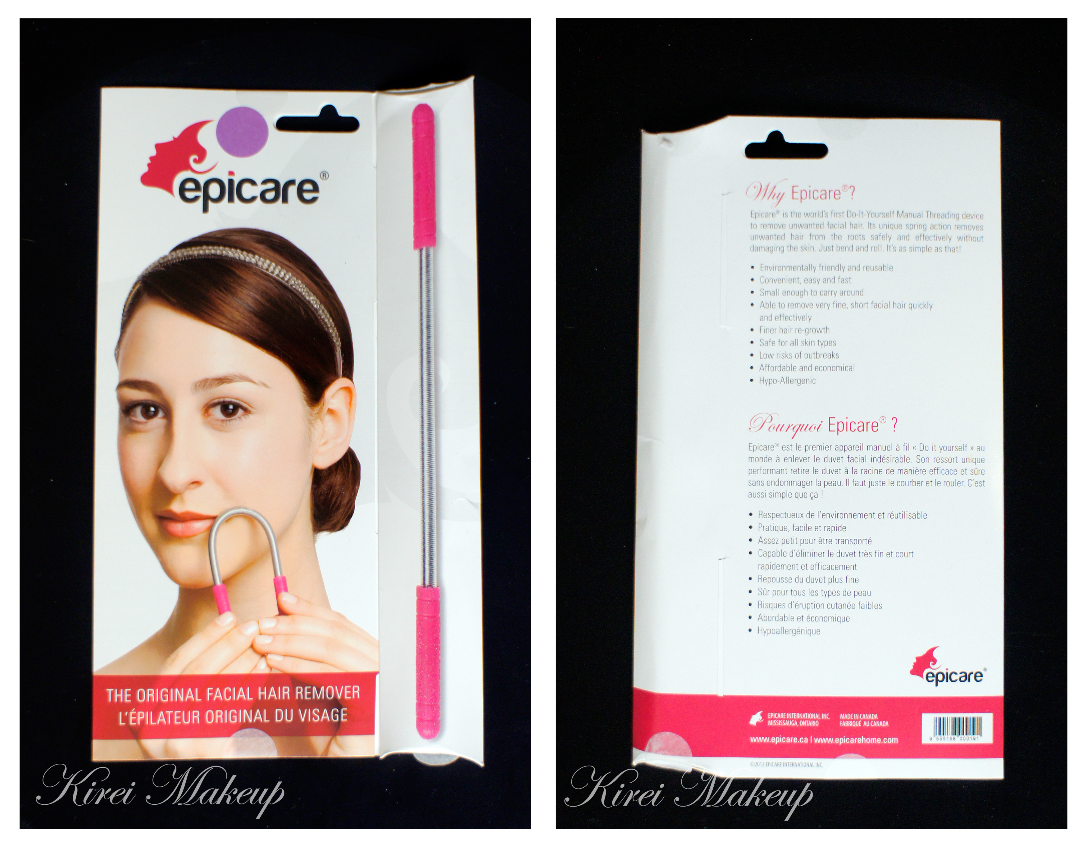 Epicare facial hair remover sponsored review kirei makeup epicare facial hair remover solutioingenieria Gallery