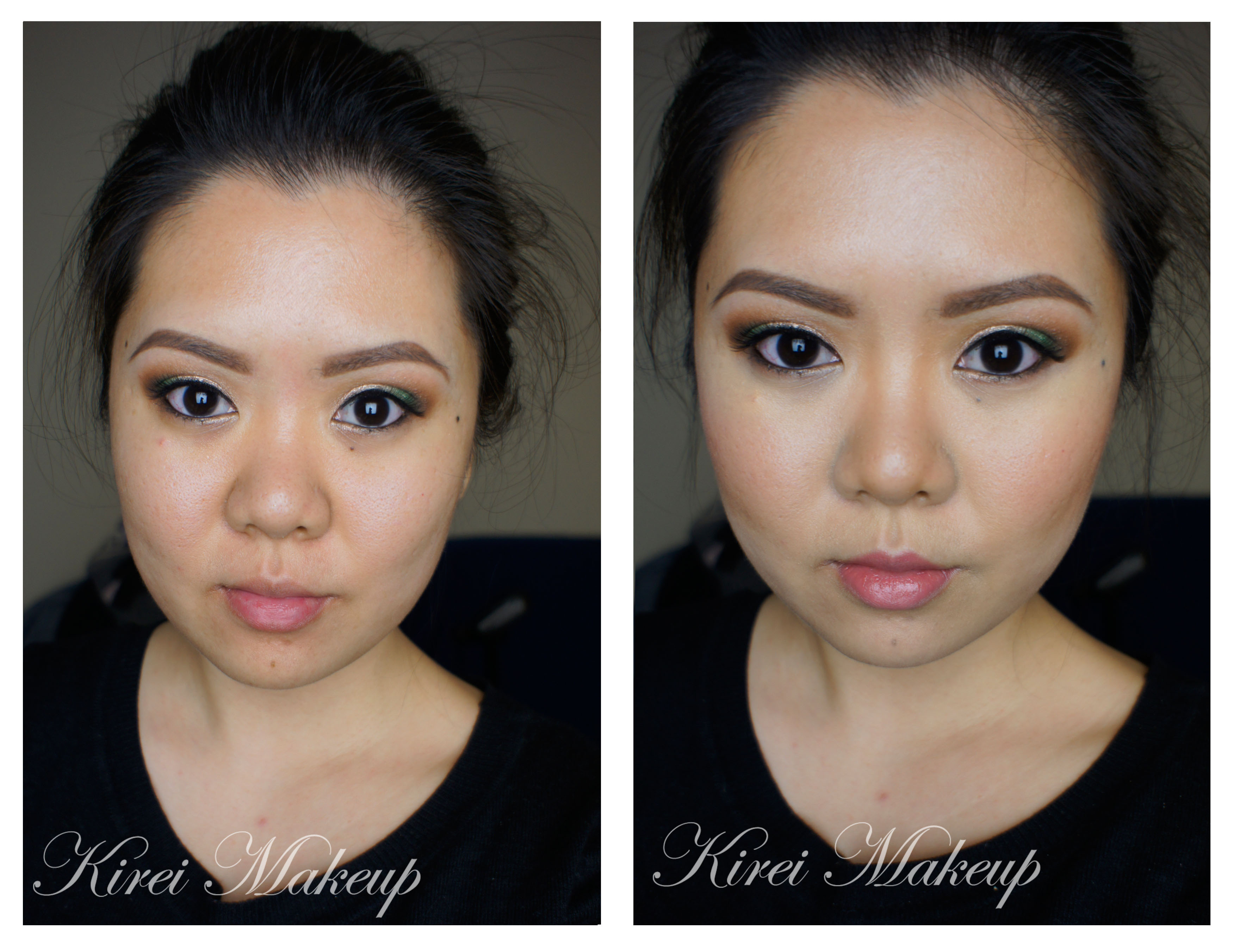 How To Contour And Highlight With Cream Foundation Aka Bacon Kirei Makeup