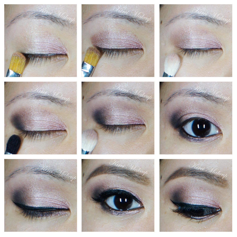 Soft rose smokey eyes tutorial using ud naked 3 kirei makeup baditri Images