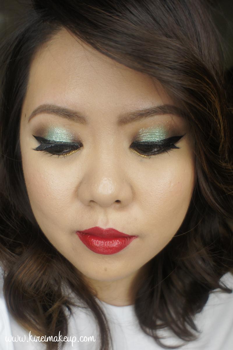 christmas makeup tutorial kirei makeup