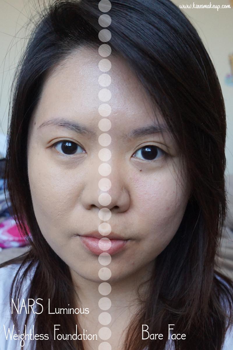 NARS Luminous Weightless Foundation Review - Kirei Makeup