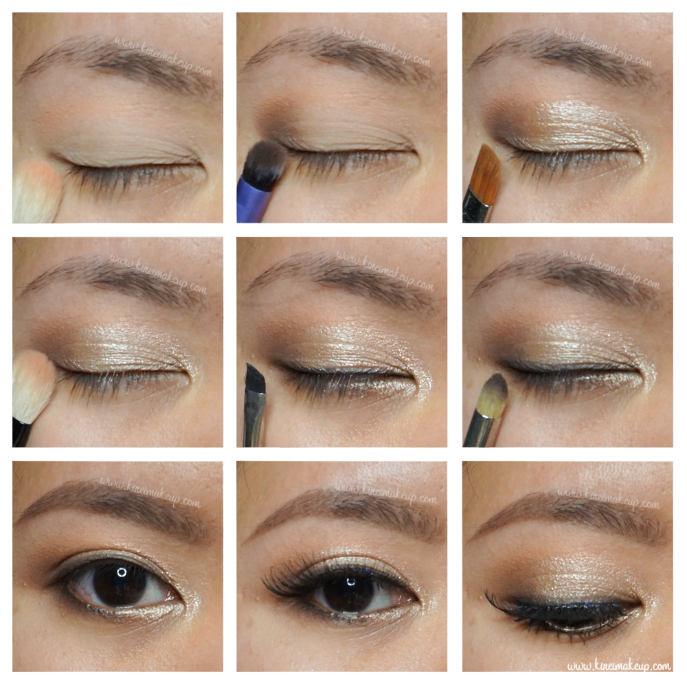 Prom makeup tutorial kirei makeup elf baked eyeshadow palette baditri Image collections