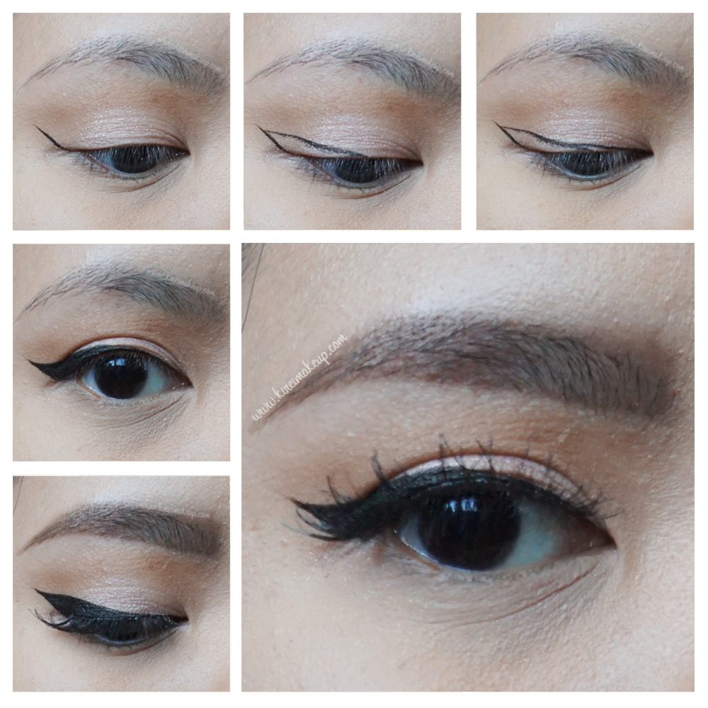 winged eyeliner tutorial kirei makeup