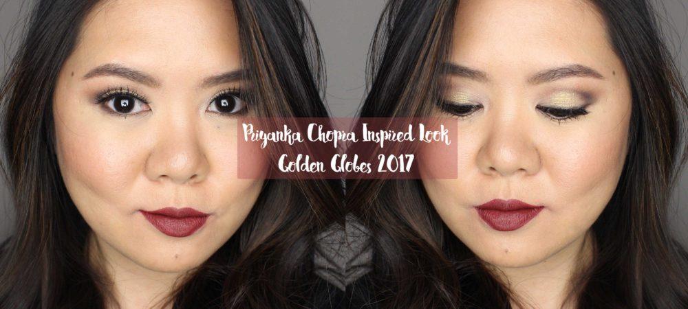 Priyanka Chopra Golden Globes Makeup Inspired Look