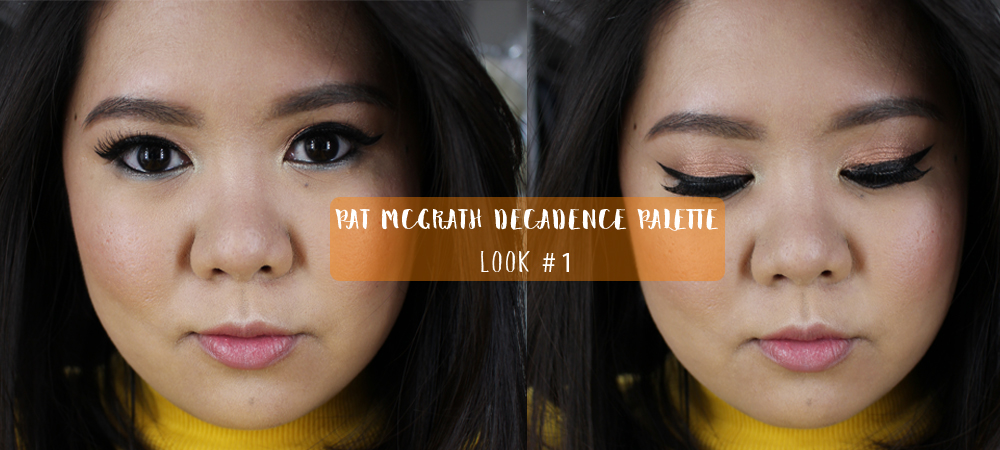 Pat McGrath Decadence Palette Look #1